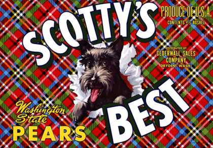 Scotty's Best Pears, c. s (1940)