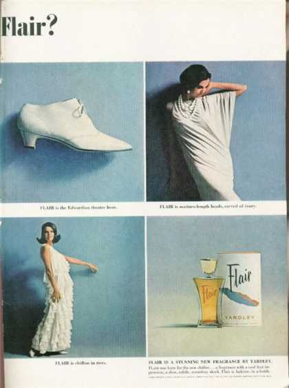Yardley Flair Fragrance (1962)