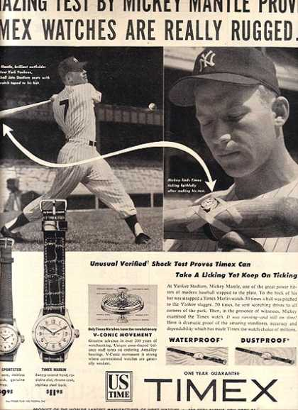 Mickey Mantle – Timex (1953)
