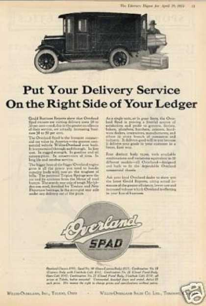 Willys-overland Spad Truck (1924)