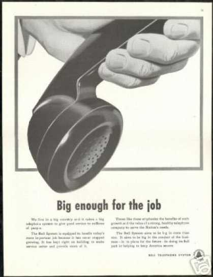 Bell Telephone System Big Plans Future (1951)