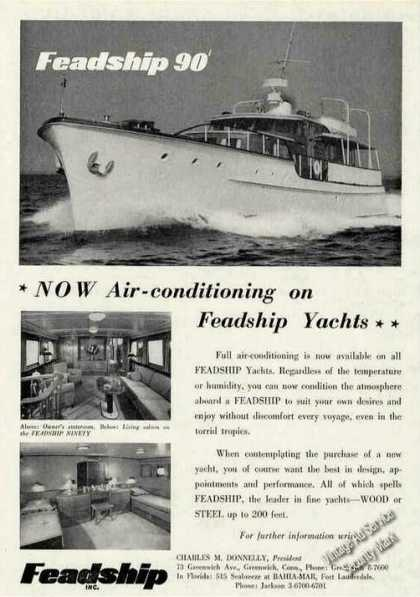 Feadship 90 W/air Conditioning Greenwich Ct (1956)
