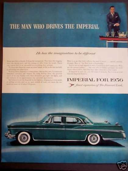 Chrysler Imperial Classic Green Car (1956)