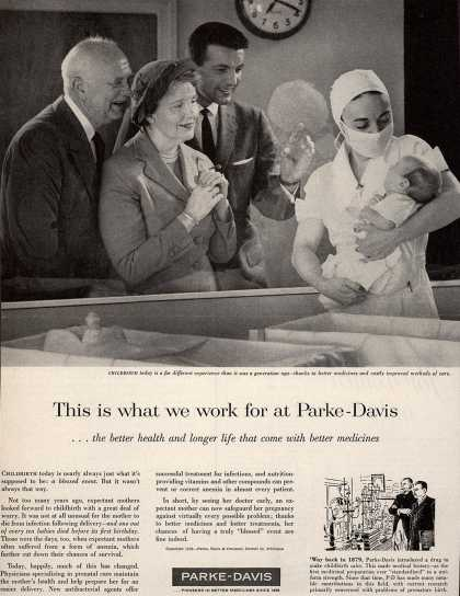 Parke, Davis & Company – This is what we work for at Parke-Davis (1958)
