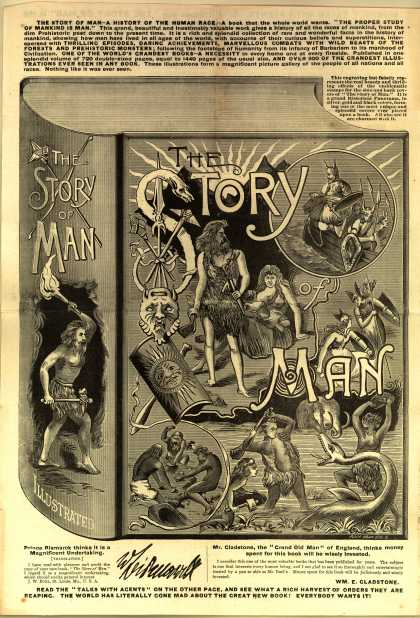 B. F. Johnson & Co.'s The Story of Man – Story of Man