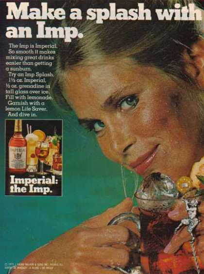 Imperial Whiskey – Make a splash with an Imp (1975)