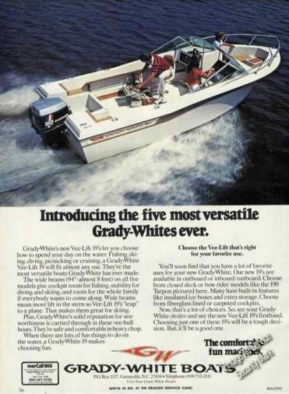 Grady-white Vee-lift 19 Photo Boat (1980)