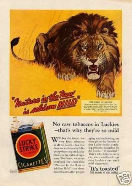 Lucky Strike Cigarettes (1931)