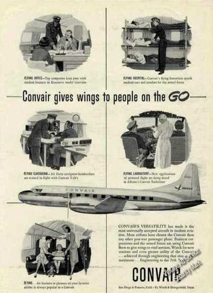 Convair Gives Wings To People On the Go (1953)