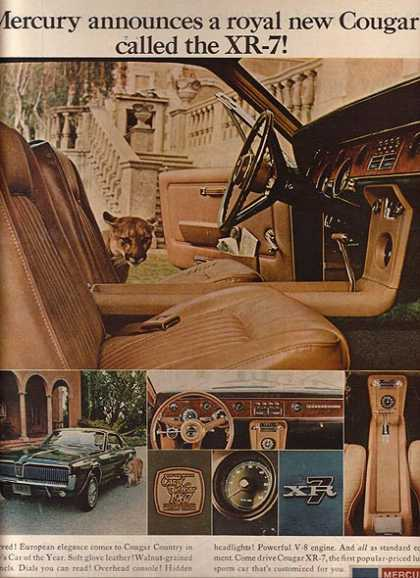 Ford's Mercury Cougar (1967)