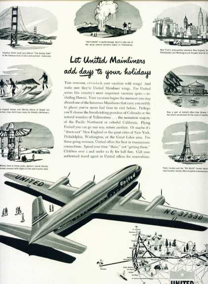 United Airlines – United Mainliners C (1950)