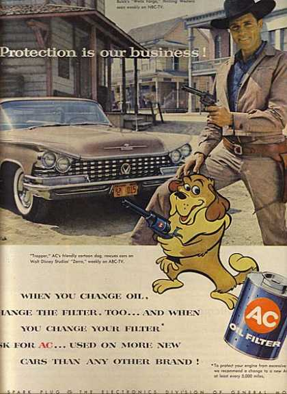 AC's Oil Filters (1958)