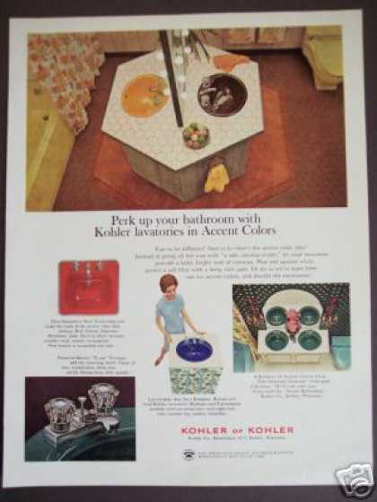 Original Kohler Colors Plumbing Fixtures Retro (1966)