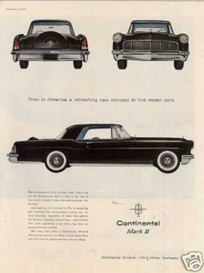 Lincoln Continetal Mark Ii Car (1956)