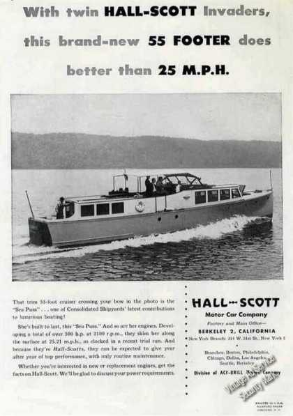 "Consolidated Shipyards' ""Sea Puss"" Hall-scott (1947)"