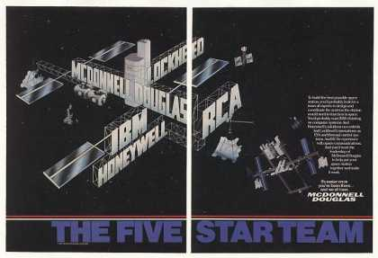 McDonnell Douglas 5 Star Team Space Station 2-P (1987)
