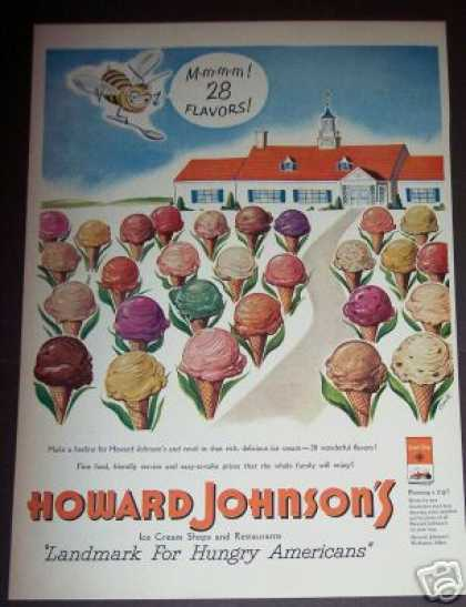 Howard Johnson's Landmark Ice Cream Restaurant (1951)