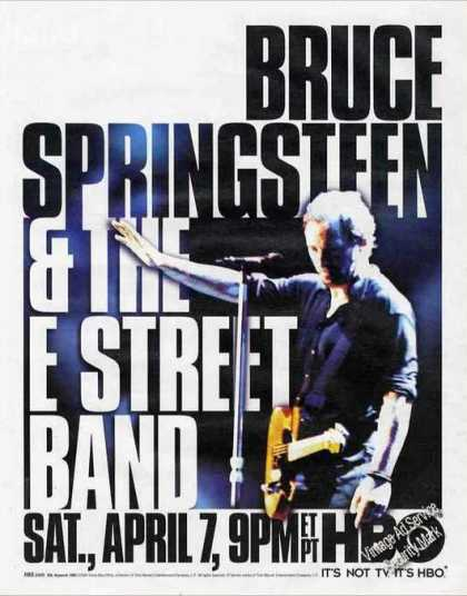 Bruce Springsteen & the E Street Band Hbo Promo (2001)