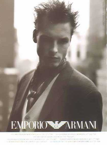 Emporio Armani Fashion – Beverly Hills, Boston, Costa Mesa... (1994)