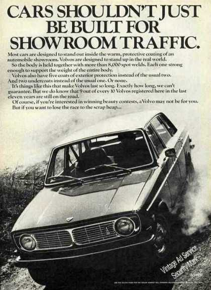 "Volvo ""Not Just for Showroom Traffic"" (1970)"