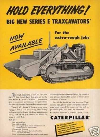 Caterpillar Series E Traxcavator (1957)