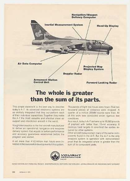 Vought A-7 Aircraft Greater than Sum of Parts (1973)