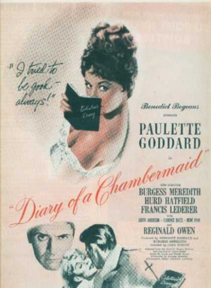 Diary of a Chambermaid (1946)