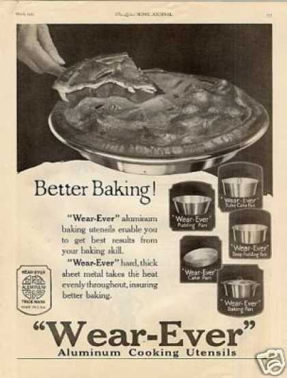 Wear-ever Aluminum Cooking Utensils (1923)