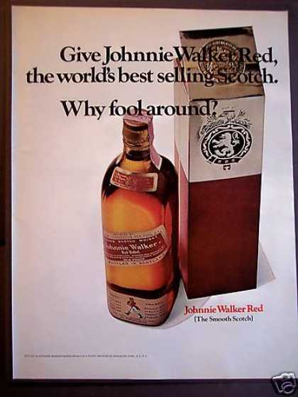 Original Johnnie Walker Red Scotch (1967)