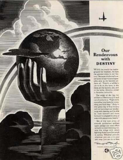 "Douglas Aircraft Ad ""Our Rendezvous... (1942)"