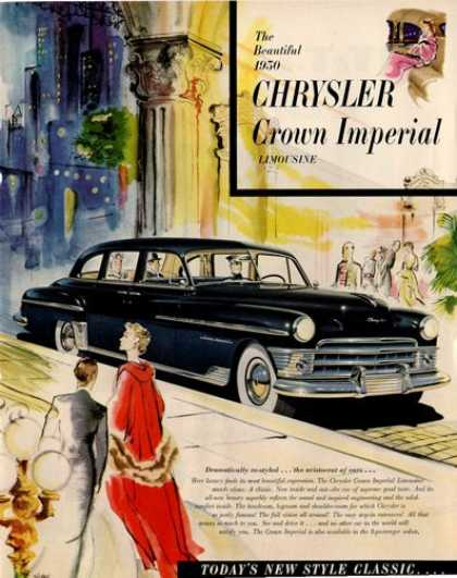 Chrysler Crown Imperial Limousine Rare (1950)