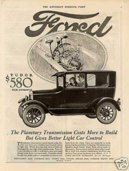 Ford Tudor Car (1926)