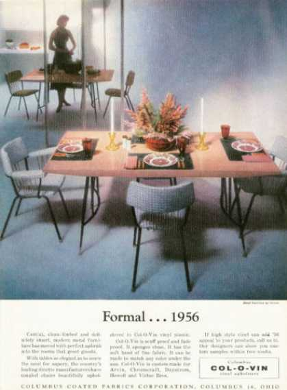 Col-o-vin Howell Metal Furniture (1956)