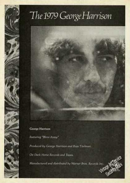 George Harrison Photo Collectible Album (1979)