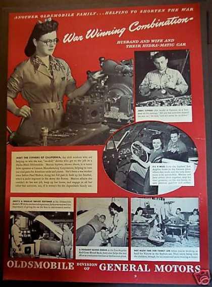 Oldsmobile World War Ii Syphers Family (1944)