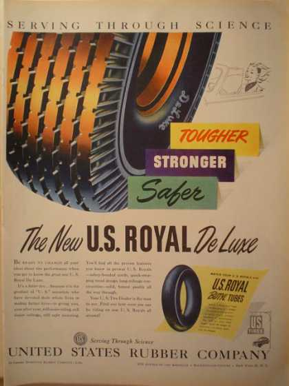 United States Rubber Company Tire (1946)