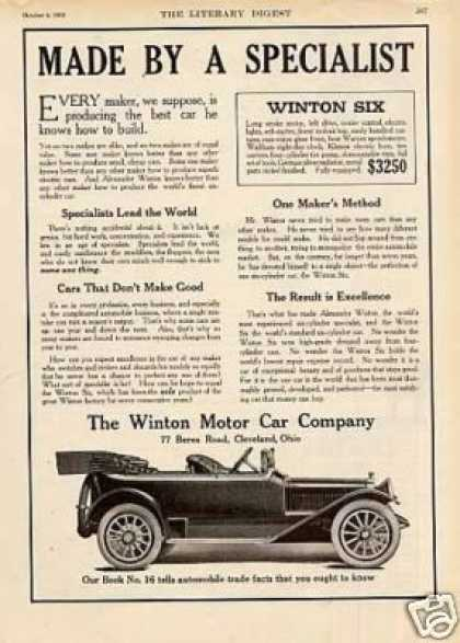 Winton Six Car (1913)