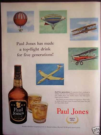 Paul Jones Whiskey Airplanes (1952)