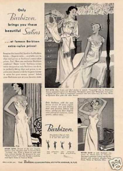 Barbizon Lingerie (1950)