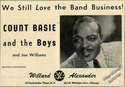 Count Basie Photo Trade (1957)