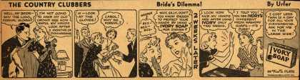 Procter & Gamble Co.'s Ivory Soap – The Country Clubbers. Bride's Dilemma (1937)