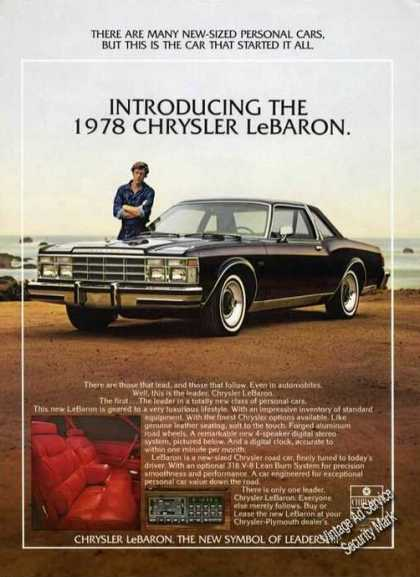 Chrysler Lebaron Photo Car (1978)