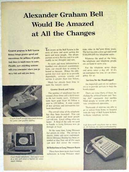 Bell Telephone – Alexander Graham Bell Would Be Amazed (1966)