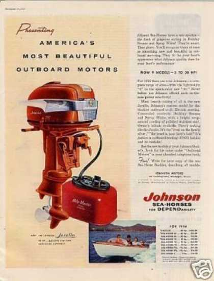 Johnson Sea-horse Javelin Outboard Motor (1956)