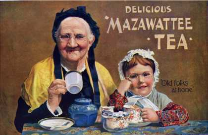Mazawattee, Tea, UK (1890)