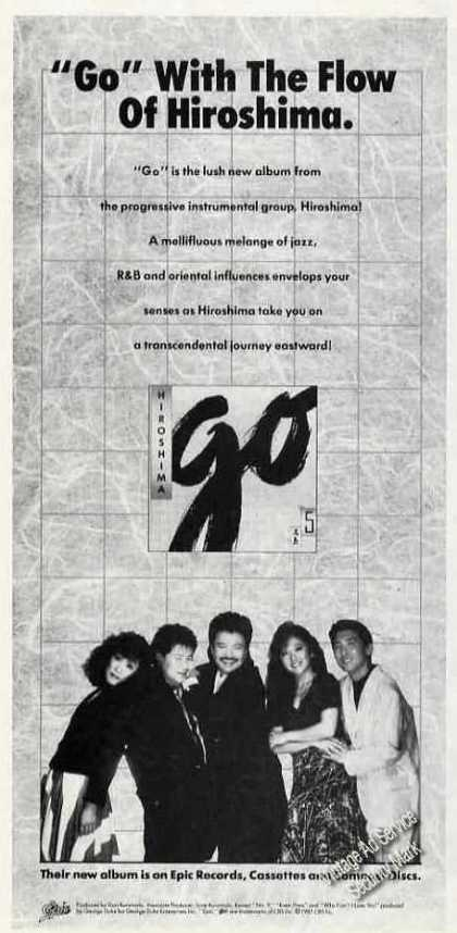 "Hiroshima Group Photo ""Go""Album Promo (1987)"