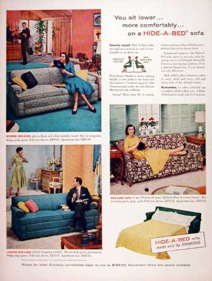 Simmons Sofa Bed (1956)