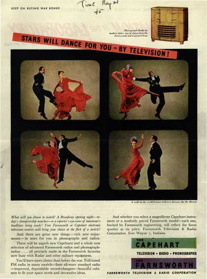 Farnsworth Television and Radio Corporation's Television – Stars Will Dance For You-By Television (1945)