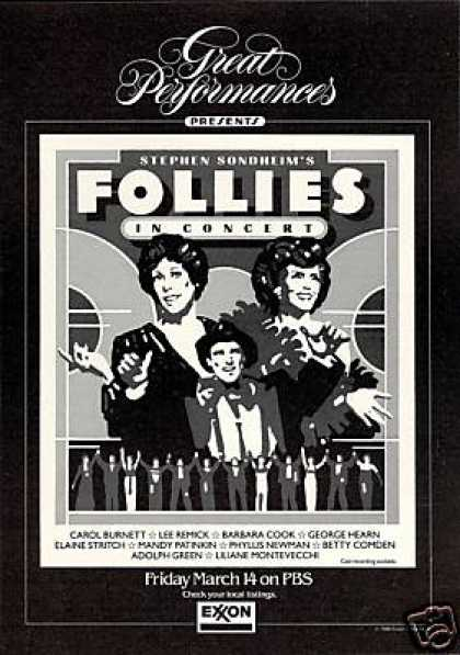 Carol Burnett Follies In Concert PBS TV (1986)