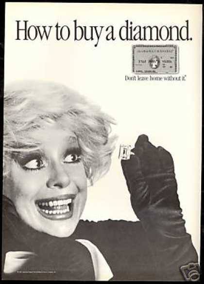Carol Channing Diamond Jewelry American Express (1985)